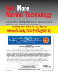 Marine Technology Magazine, page 20,  Jul 2005