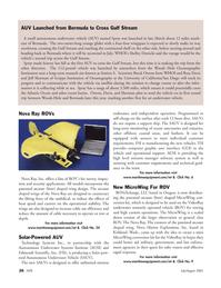 Marine Technology Magazine, page 25,  Jul 2005 California