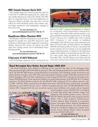 Marine Technology Magazine, page 26,  Jul 2005 RnoN mine