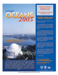Marine Technology Magazine, page 1,  Jul 2005