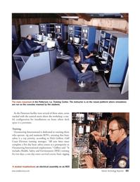 Marine Technology Magazine, page 32,  Jul 2005 Patterson facility