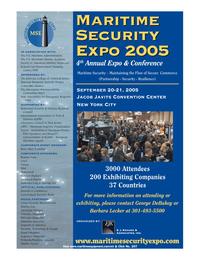 Marine Technology Magazine, page 34,  Jul 2005 Jacob Javits