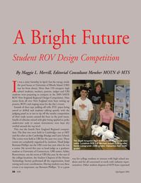 Marine Technology Magazine, page 35,  Jul 2005 Rhode Island