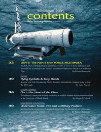 Marine Technology Magazine, page 2,  Jul 2005 Edward Lundquist