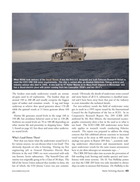 Marine Technology Magazine, page 42,  Jul 2005 Ron Mitson
