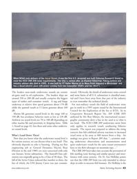 Marine Technology Magazine, page 42,  Jul 2005 Ron Mitson