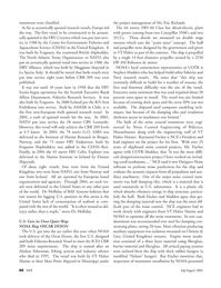 Marine Technology Magazine, page 45,  Jul 2005 Ray Fischer