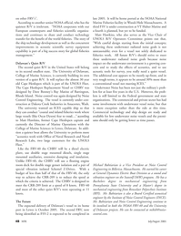 Marine Technology Magazine, page 47,  Jul 2005 Rhode Island