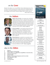 Marine Technology Magazine, page 3,  Jul 2005 Irina Tabakina