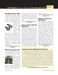 Marine Technology Magazine, page 52,  Jul 2005 GeoEel