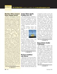 Marine Technology Magazine, page 53,  Jul 2005 Canon FS20 Camcorder