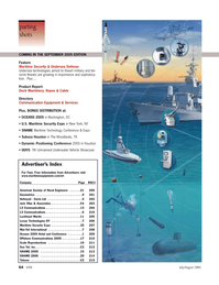 Marine Technology Magazine, page 63,  Jul 2005 C-4