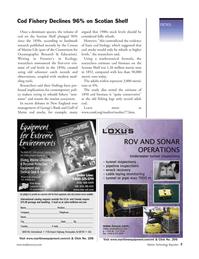 Marine Technology Magazine, page 6,  Jul 2005 New Jersey