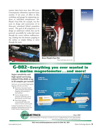 Marine Technology Magazine, page 9,  Sep 2005 California