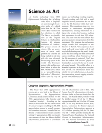 Marine Technology Magazine, page 10,  Sep 2005 House of Representatives