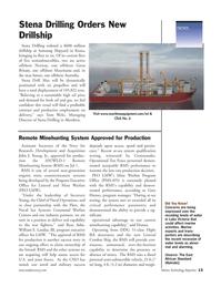 Marine Technology Magazine, page 13,  Sep 2005