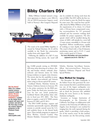 Marine Technology Magazine, page 14,  Sep 2005 Navy