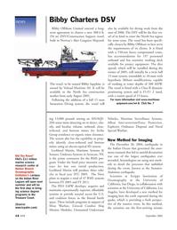 Marine Technology Magazine, page 14,  Sep 2005 Navy