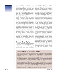 Marine Technology Magazine, page 16,  Sep 2005 Lake Erie