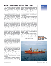 Marine Technology Magazine, page 17,  Sep 2005 steel