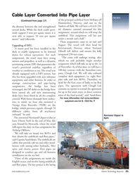 Marine Technology Magazine, page 21,  Sep 2005 East Coast