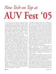 Marine Technology Magazine, page 22,  Sep 2005
