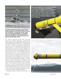 Marine Technology Magazine, page 24,  Sep 2005 William Schopfel