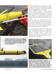 Marine Technology Magazine, page 25,  Sep 2005