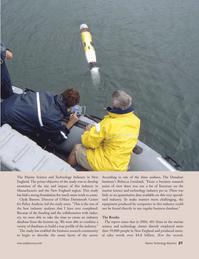 Marine Technology Magazine, page 27,  Sep 2005 Clyde Barrow