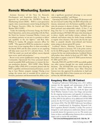 Marine Technology Magazine, page 39,  Sep 2005 British Columbia