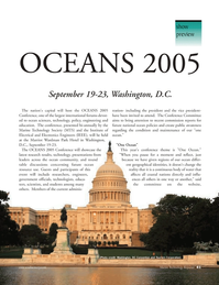 Marine Technology Magazine, page 41,  Sep 2005 Marriot Wardman Park Hotel