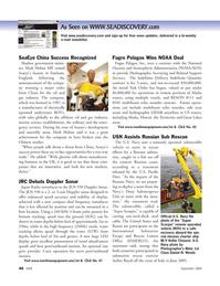 Marine Technology Magazine, page 46,  Sep 2005 Scorpio