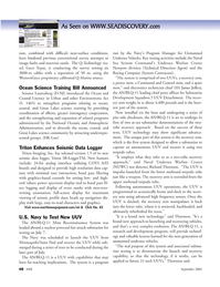 Marine Technology Magazine, page 48,  Sep 2005