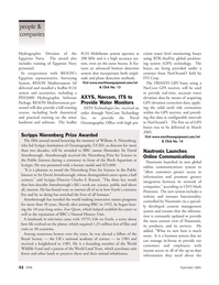 Marine Technology Magazine, page 52,  Sep 2005 Charles F. Kennel