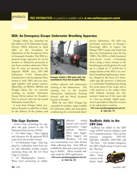 Marine Technology Magazine, page 54,  Sep 2005