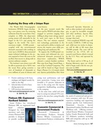 Marine Technology Magazine, page 57,  Sep 2005