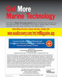 Marine Technology Magazine, page 5,  Sep 2005
