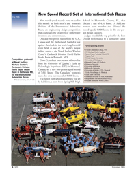 Marine Technology Magazine, page 6,  Sep 2005 NJ Virginia Tech Florida Atlantic University University of Washington Hernando County