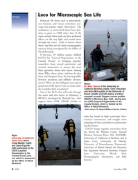 Marine Technology Magazine, page 8,  Nov 2005 Woods Hole