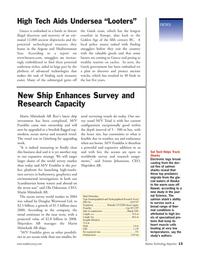 Marine Technology Magazine, page 13,  Nov 2005 Alaska