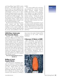 Marine Technology Magazine, page 15,  Nov 2005 StationGuard software