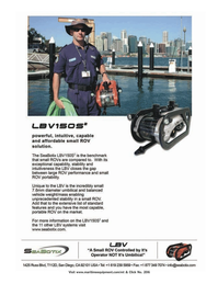 Marine Technology Magazine, page 2nd Cover,  Nov 2005