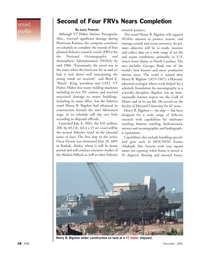 Marine Technology Magazine, page 18,  Nov 2005 North Carolina