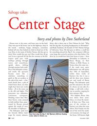 Marine Technology Magazine, page 30,  Nov 2005 Port Sulphur