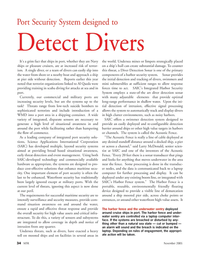 Marine Technology Magazine, page 34,  Nov 2005 Larry McDonald