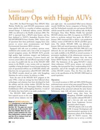 Marine Technology Magazine, page 38,  Nov 2005 NATO