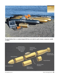 Marine Technology Magazine, page 43,  Nov 2005