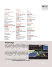 Marine Technology Magazine, page 47,  Nov 2005 Yasmin