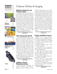 Marine Technology Magazine, page 48,  Nov 2005 imaging