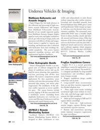 Marine Technology Magazine, page 48,  Nov 2005 imaging